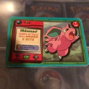 Nidorano rare Pokémon card 1999